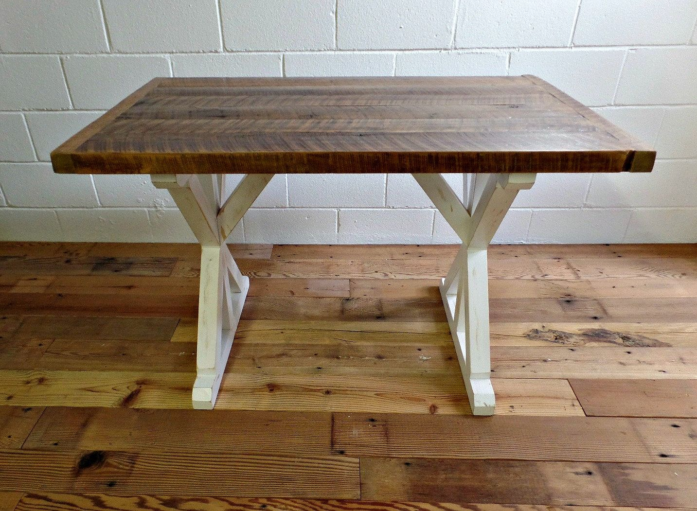 RECLAIMED WOOD TABLE 30 x 48 inch dining table