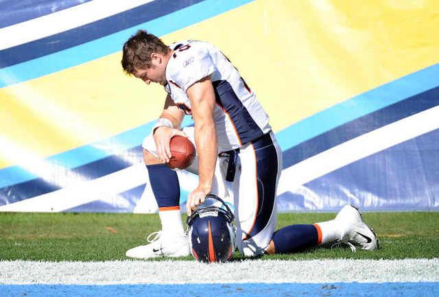 Like Tebow, we need to stand up for what we believe!