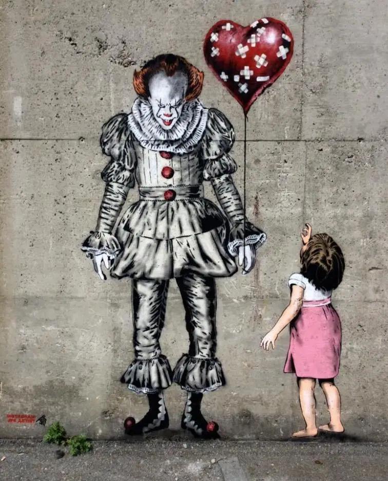 Halloween Street Art and Graffiti