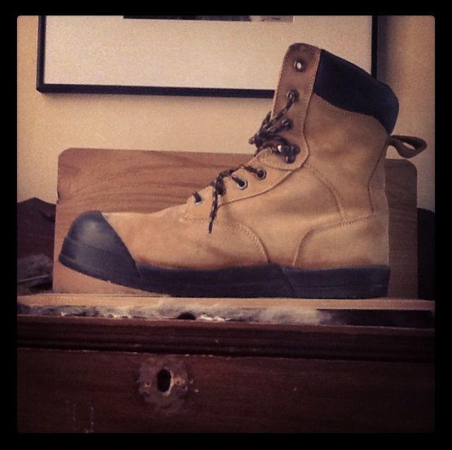 Zero Drop Construction Work Boots Getting My Cobbler To Slice Off My Heel Boots Work Boots Heels