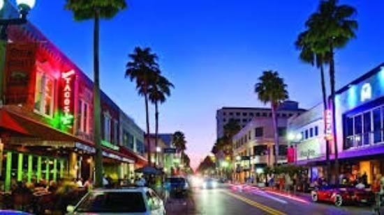 Atlantic Avenue Downtown West Palm Beach West Palm Beach Florida Palm Bay Florida