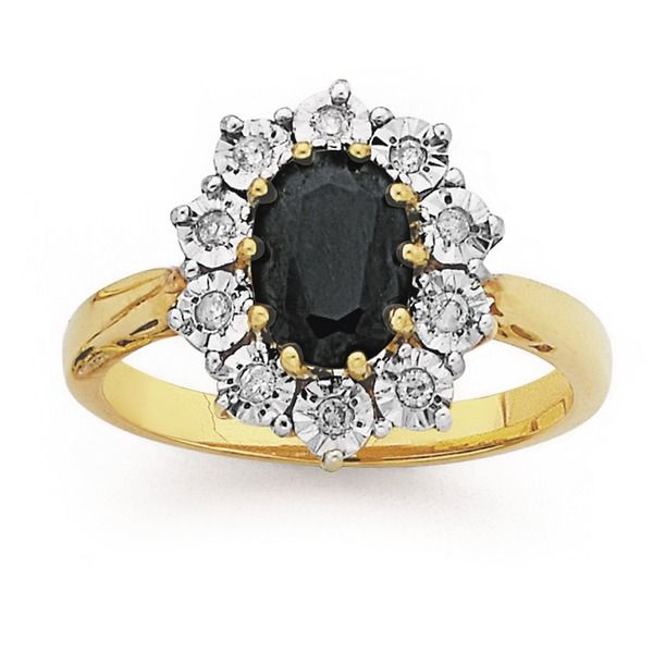 9ct Gold Diamond Ring | Rings | Prouds The Jewellers
