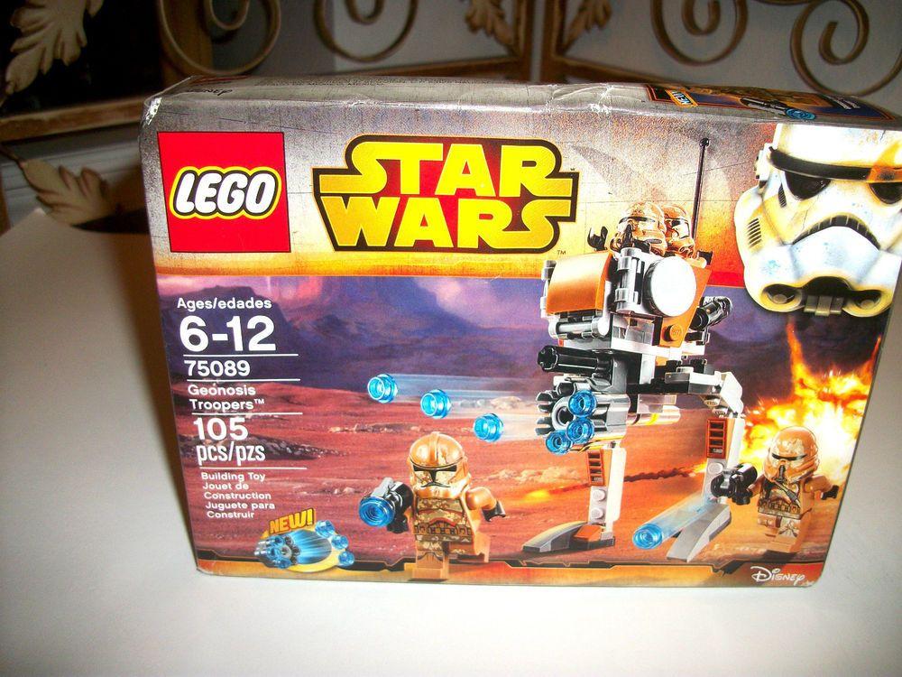 Lego #  75089  Star Wars Geonosis Troopers NEW SEAL