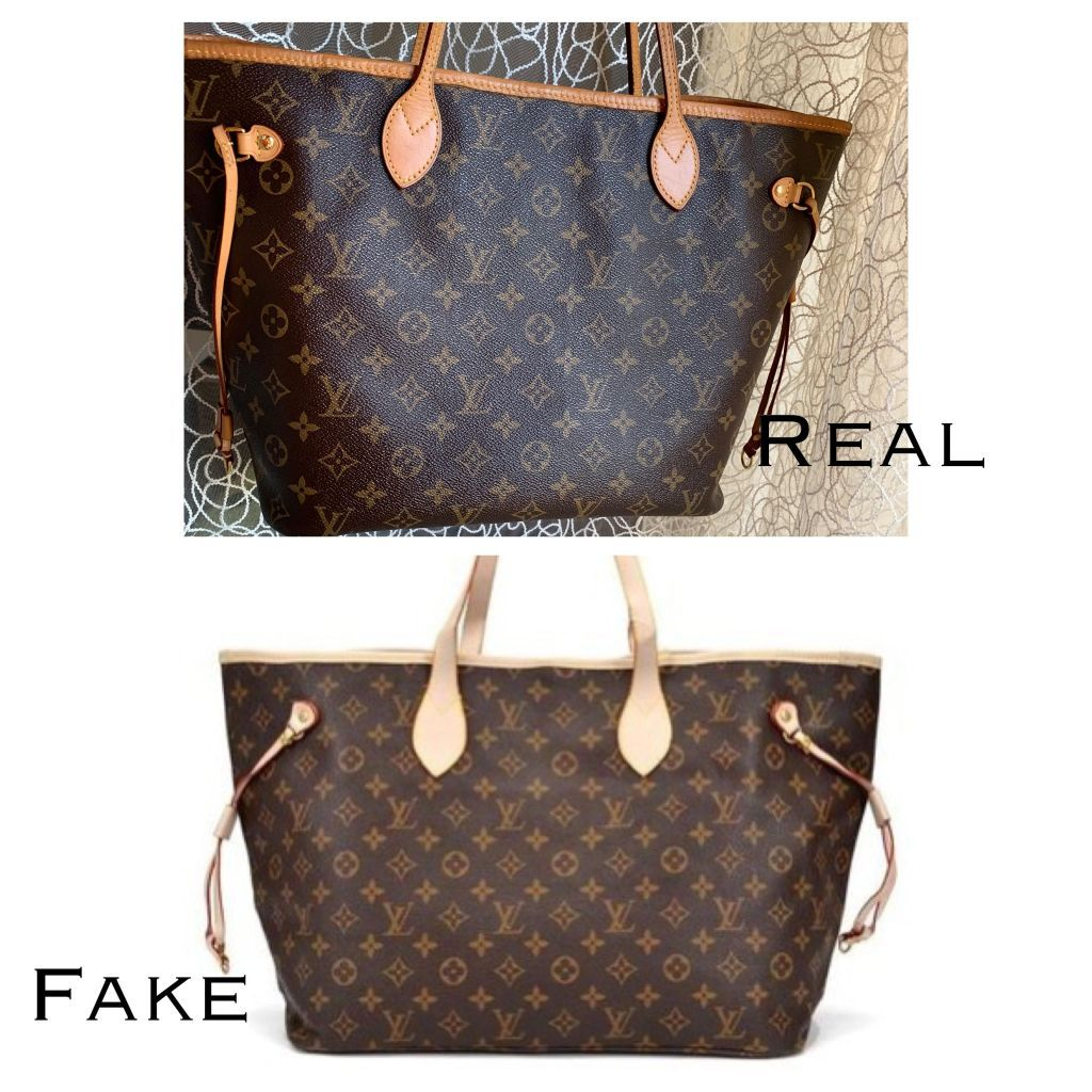 How to spot a fake louis vuitton neverfull bag authentic