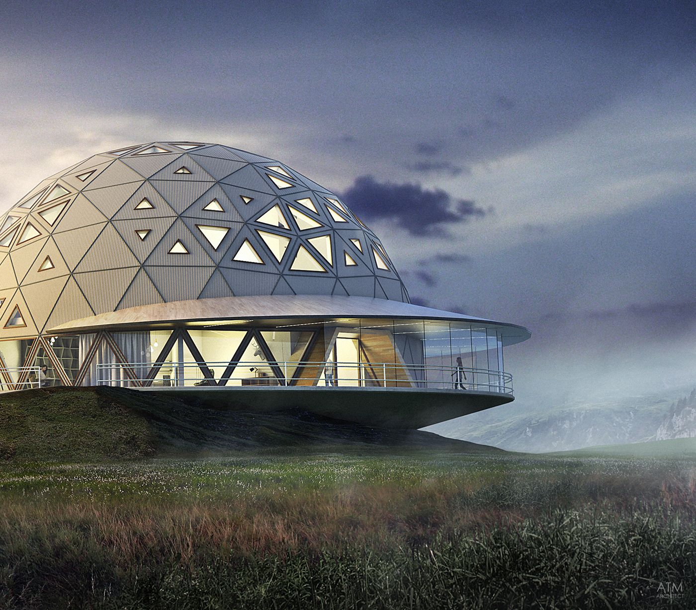 Project Gridless Geodesic Homes: Dome House, Geodesic Dome Homes