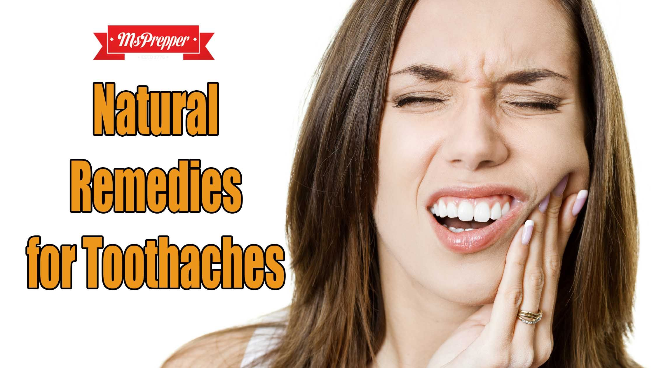 Donut let a toothache keep you down Here are some natural remedies