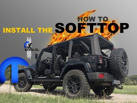 Jeep Wrangler Jk How To Install The Softtop Mopar Jeep