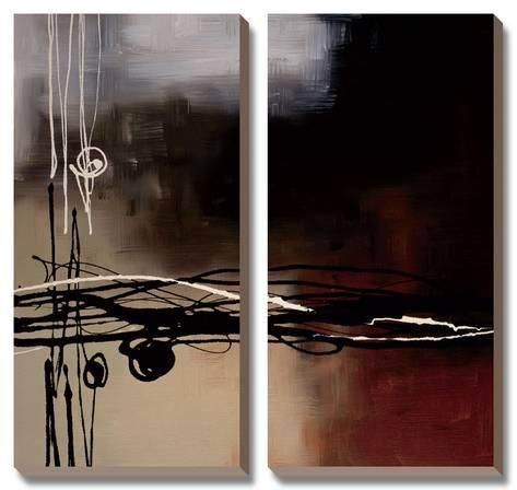 Canvas Art Set Prelude In Rust I By Laurie Maitland 24x25in Art Set Art Abstract Canvas