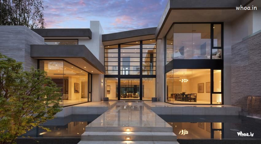 Amazing-Modern-House-Designs-HD-Wallpaper.jpg (850×468) | Modern ...