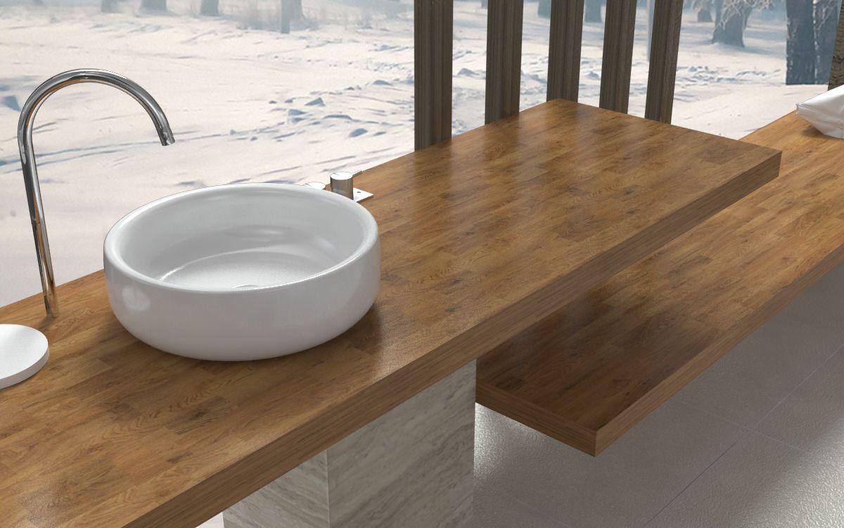 Mensole per bagno - Mensole lavabo eleganti e raffinate, resistenti ...