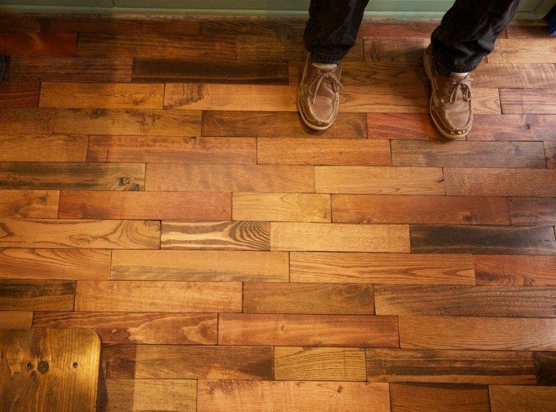Diy Pallet Flooring The Owner Builder Network Pallet Floors