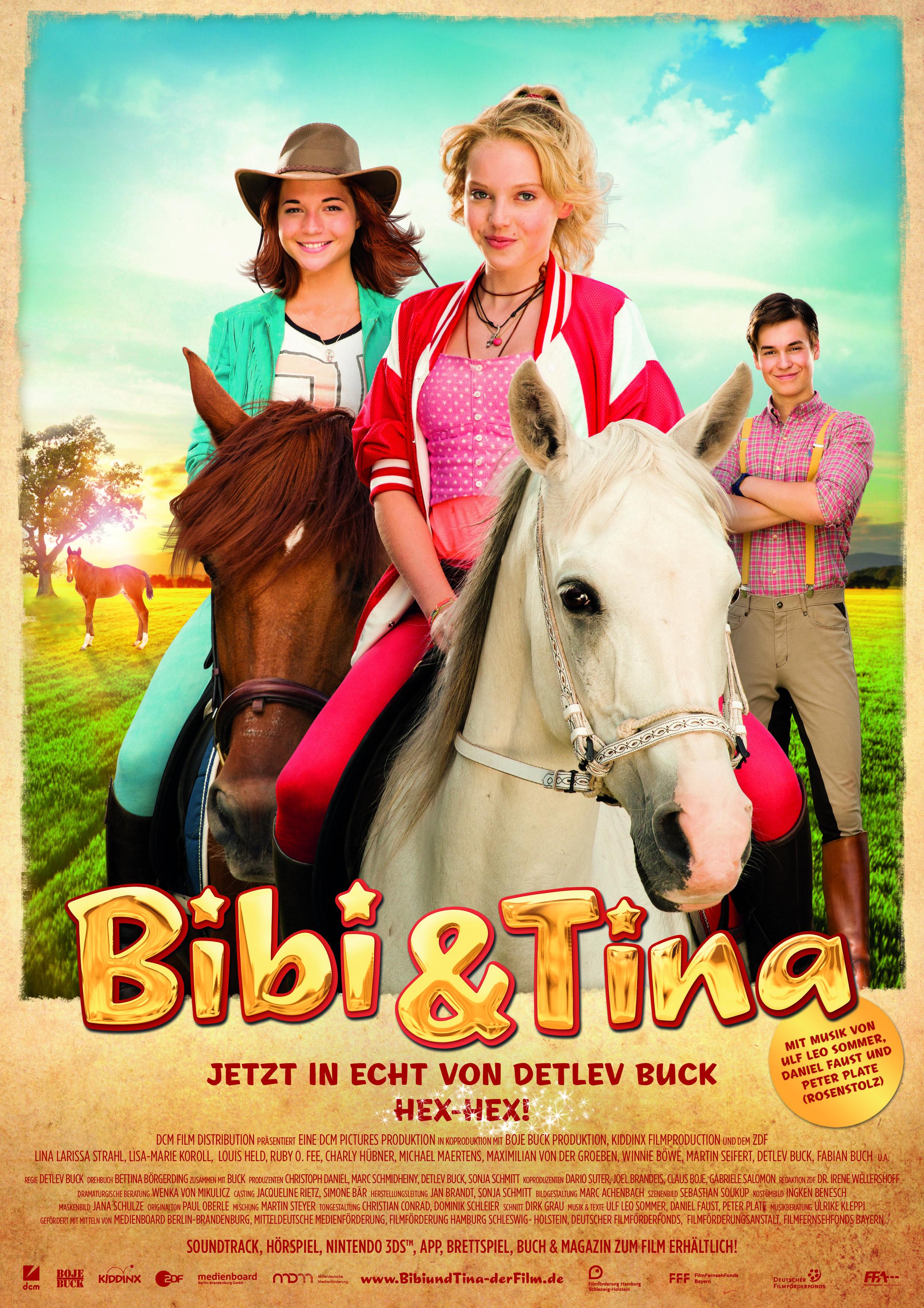 Nach Lisa Marie Koroll sind LINA & Louis dran Welche Fragen sollen wir stellen BibiundTina VollVerhext Bibi & Tina Die e