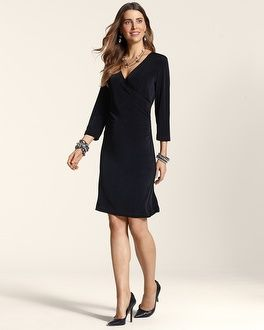 51c005910a7 Chico s Travelers Classic Rosemary Wrap Dress  chicos
