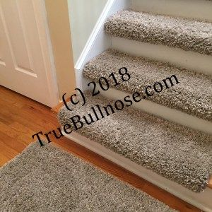 Best Oyster 4 Carpet Stair Treads Bullnose Carpet Stair 640 x 480