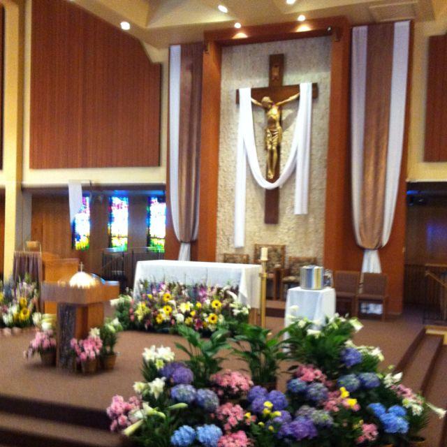 Catholic Wedding Altar Decorations: Religious Icons