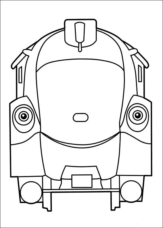 Coloriage dessins chuggington 12 coloriage dessins pour les enfants coloriage dessin anim - Train dessin anime chuggington ...