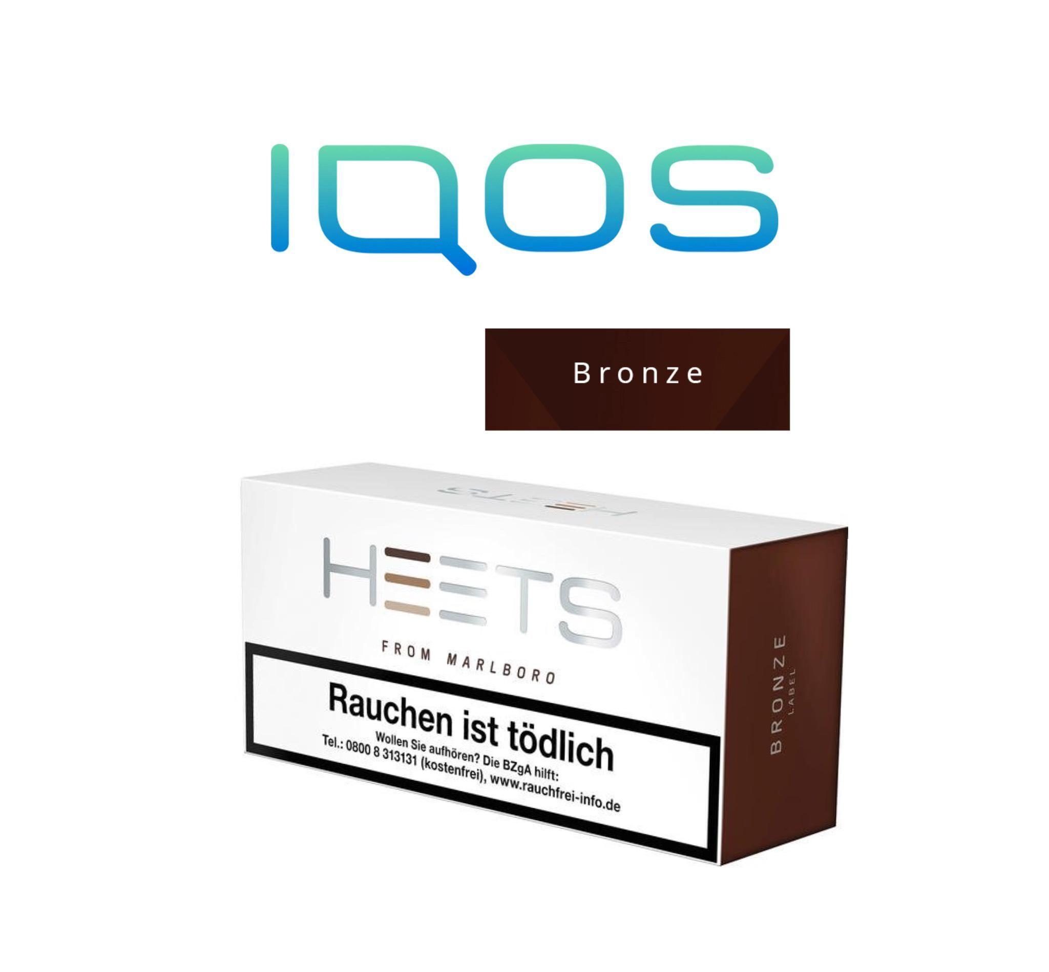 Iqos heets bronze label
