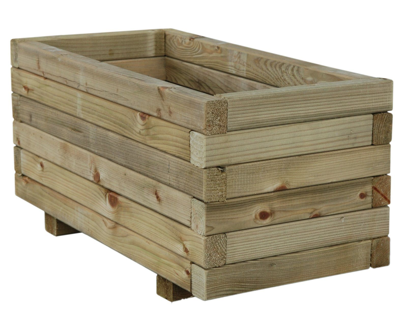 wooden planters 120x35x40cm autoclave 37 99 per piece. Black Bedroom Furniture Sets. Home Design Ideas