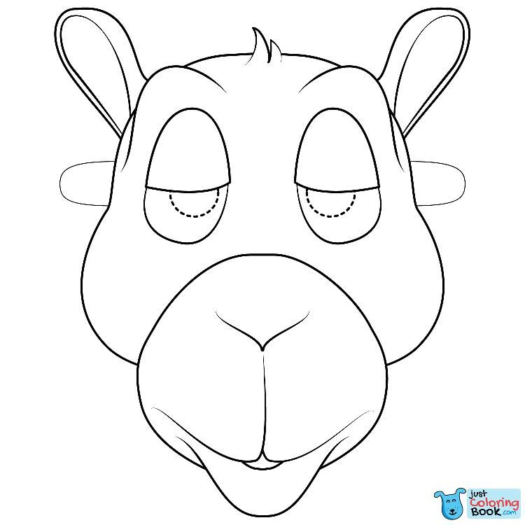 Pin On Camels Coloring Pages
