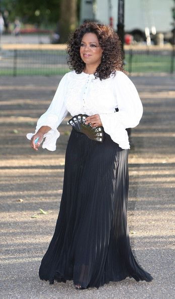 Oprah Winfrey - Dinner In Honour Of Nelson Mandela 90th birthday Arrivals, High  park, London, UK 2008