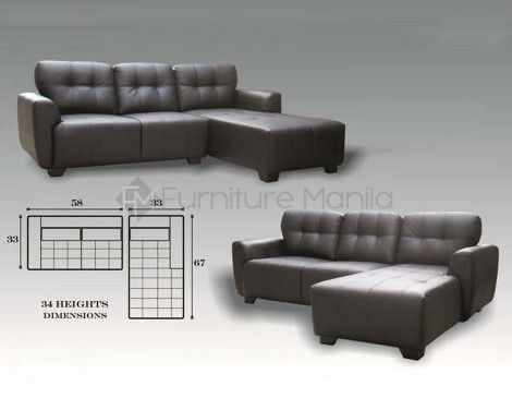 Mhl 0069 St Pierre L Shaped Sofa Furniture Manila No 1 Online Furniture Store In The Philippines L Shaped Sofa Sofa Furniture Online Furniture Stores