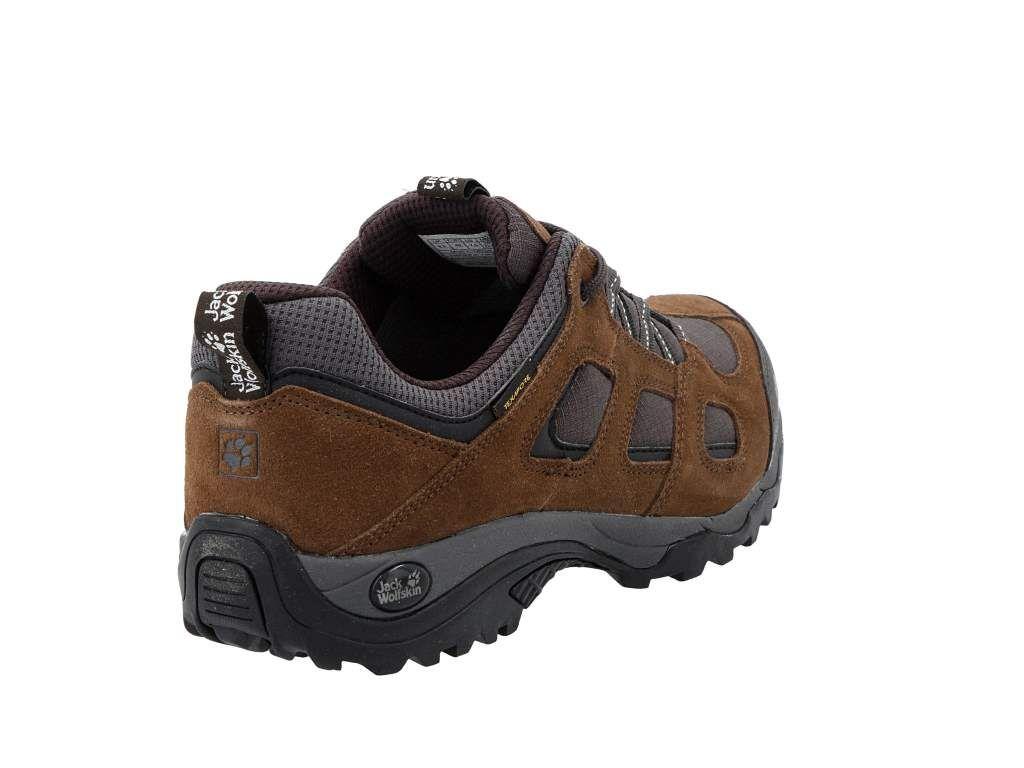 Trekkingi Jack Wolfskin Vojo Hike 2 Texapore Low M 4032361 Dark Wood Buty Trekkingowe I Trapery Polbuty Meskie Www Eobuwie Hiking Boots Hiking Boots
