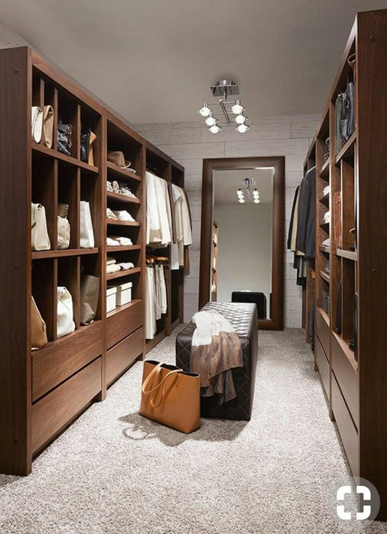 58 Stunning Walk In Closet Decorating And Design Ideas With