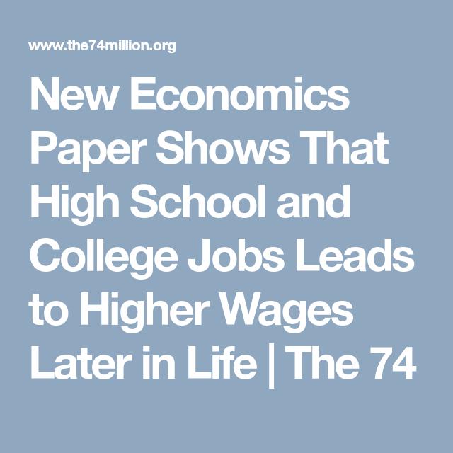 High school economics essays