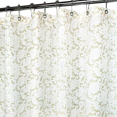 Park B Smith Victorian Lace Shower Curtain
