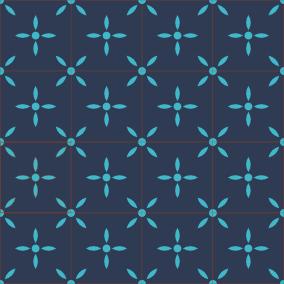 Carreaux De Ciment Bahya Motif Laurette Encaustic Tiles Bahya
