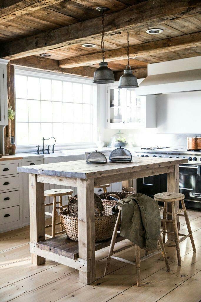 Die Küche, Werkstatt, Einrichten Und Wohnen, Einrichtung, Cape Cod Stil  Haus, Rustikales Bauernhaus, Bauernhausstil, Ländliche Primitive Dekor, ...