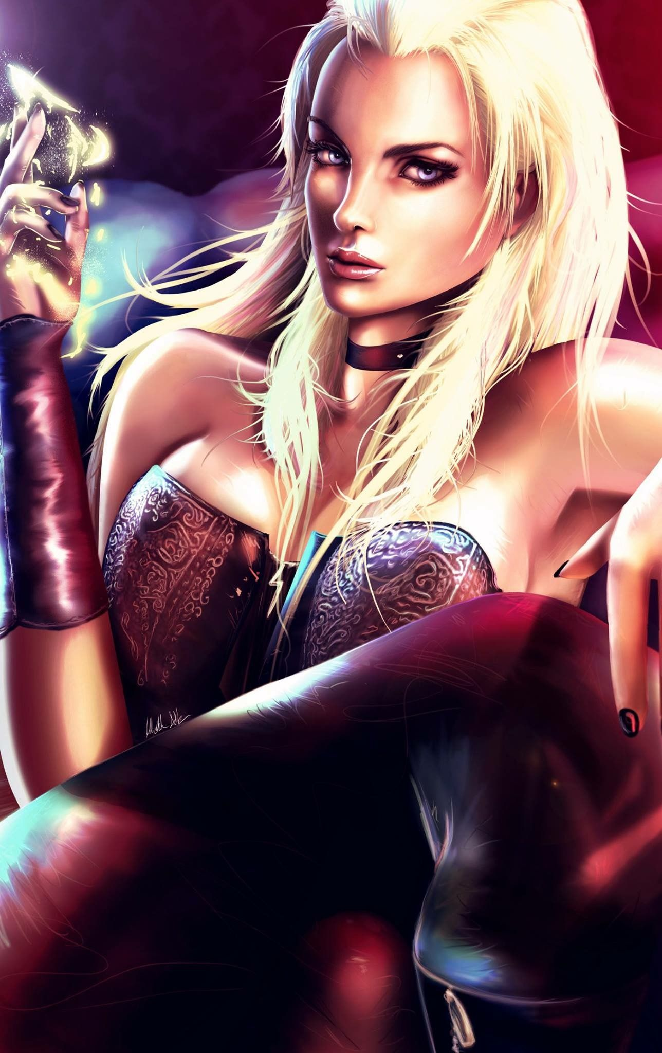 Pin On Dante Trish Devil May Cry
