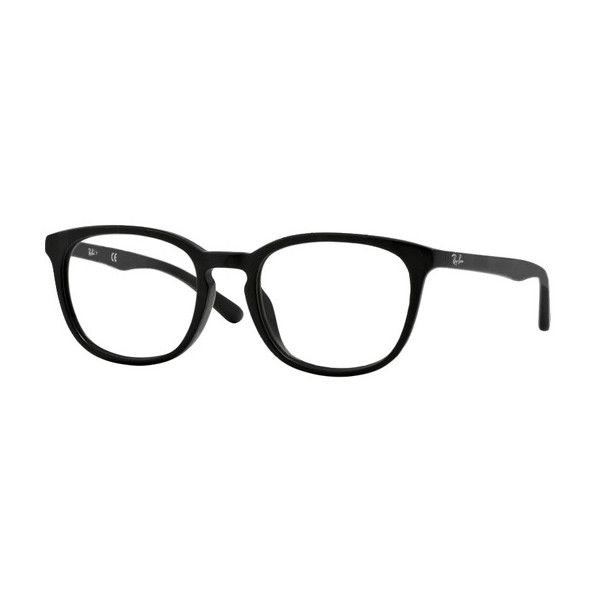 de2a3fcb7b301 Ray-Ban RX5326D Highstreet Asian Fit 2477 Eyeglasses ( 110) ❤ liked on  Polyvore