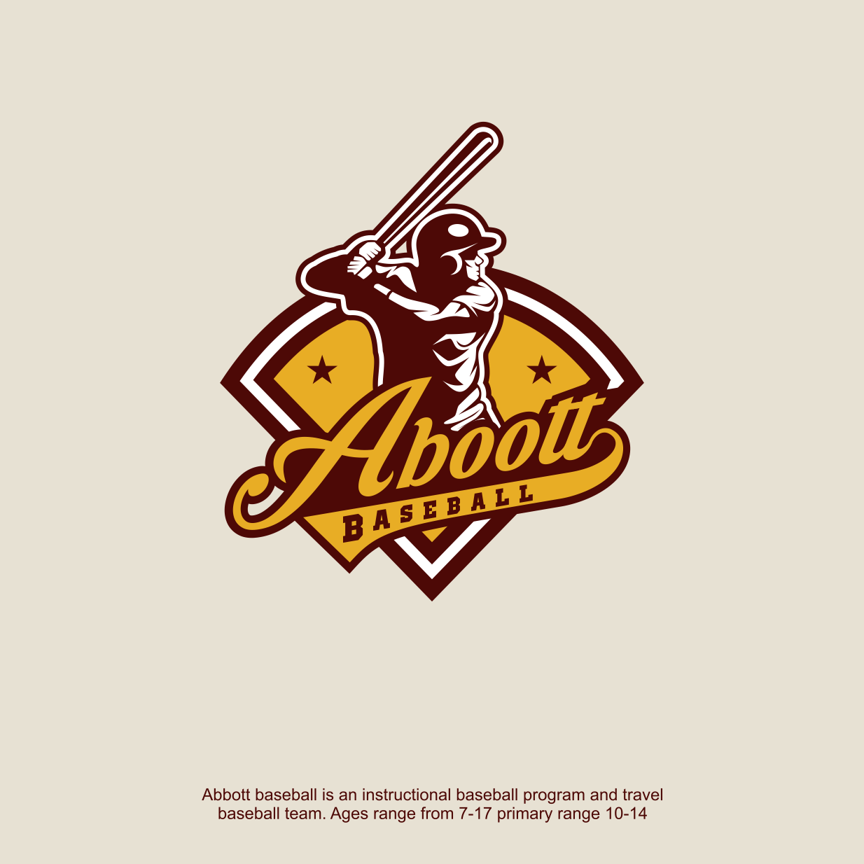 Vintage Baseball Logo 6579 Personal Design In 2020 Baseball Design Vintage Baseball Sports Logo Design