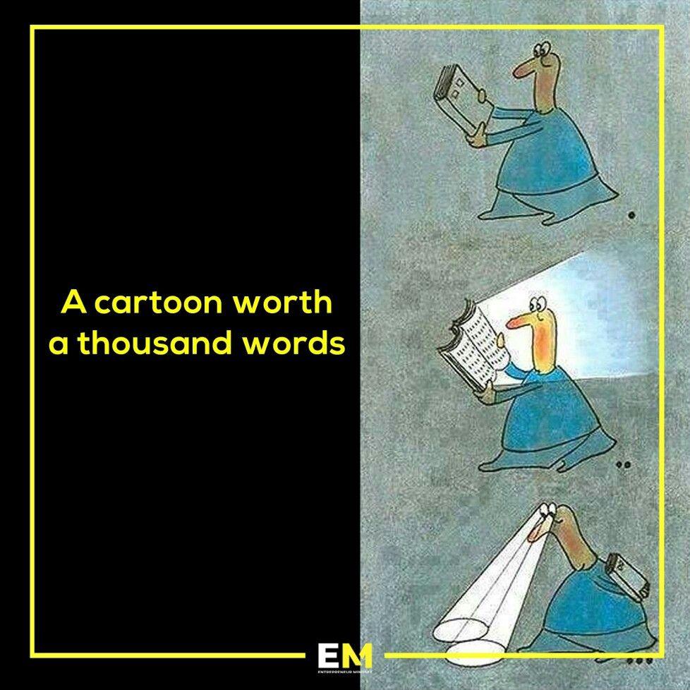 Knowledge And Wisdom Cartoon