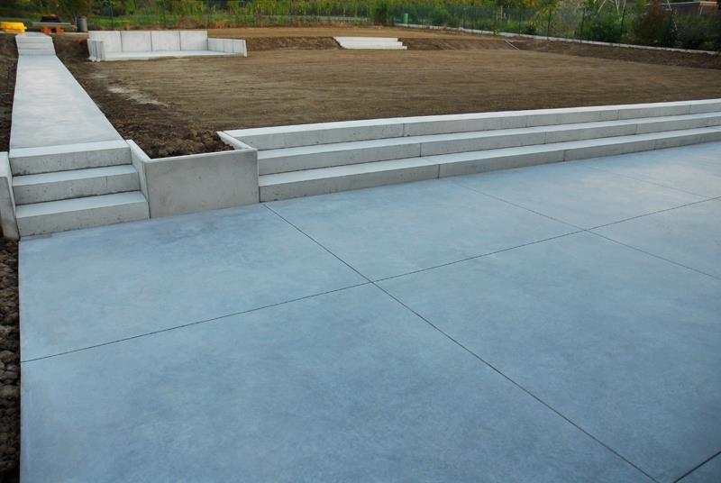 Terras in gepolierde beton pagina 5 tuinideetjes pinterest for Terras design