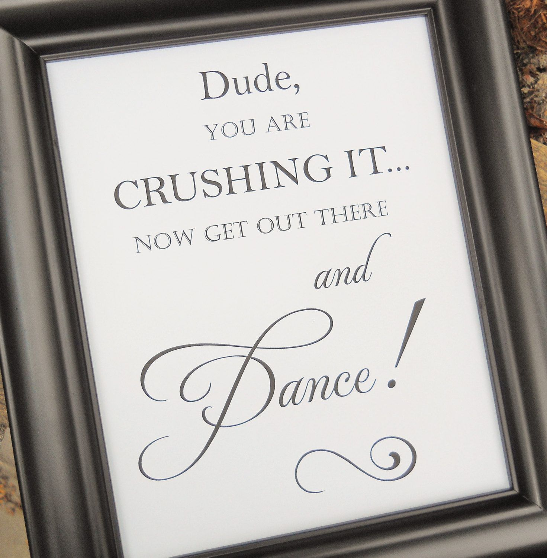 Wedding Reception Signs Ideas: Wedding Sign, FUNNY Wedding BATHROOM SIGN, Wedding Signs