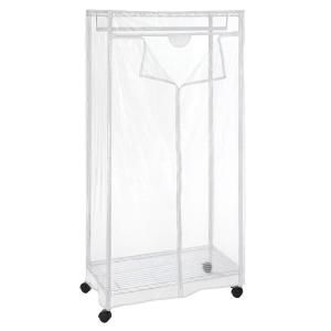 Home Depot Garment Rack Delectable Whitmor Supreme Garmentcloset Collection 3675 Inx 7025 In Review