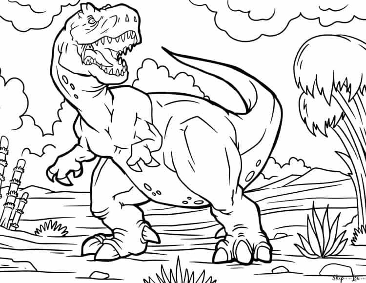 Dinosaur Coloring Pages In 2020 Dinosaur Coloring Pages Coloring Books Coloring Pages