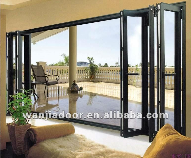 Wanjia Superior Quality Folding Exterior Doors For Sale - Buy ...