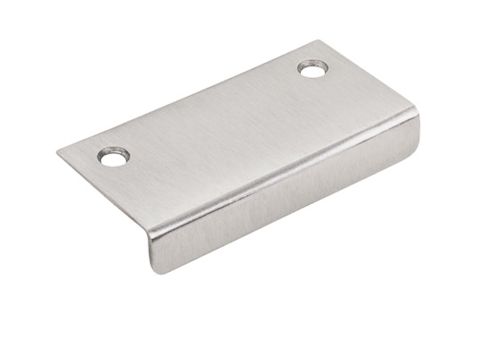 Three Inch Tab Pull In Brushed Satin Nickel, Remodelista. From Complete Cabinet  Hardware.