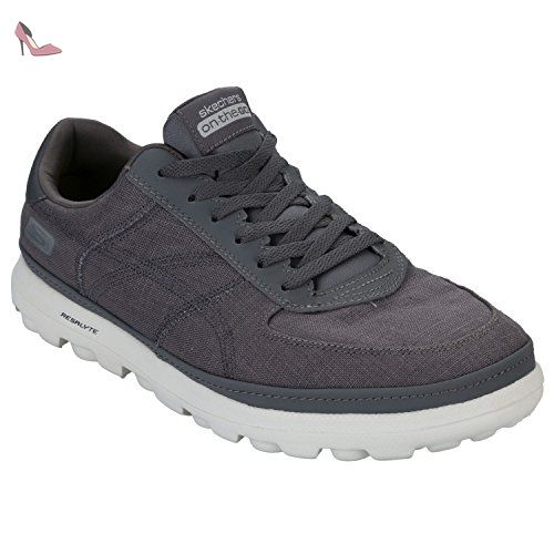Expected-Tomen, Mocassins Homme, Bleu (Navy), 43 EUSkechers