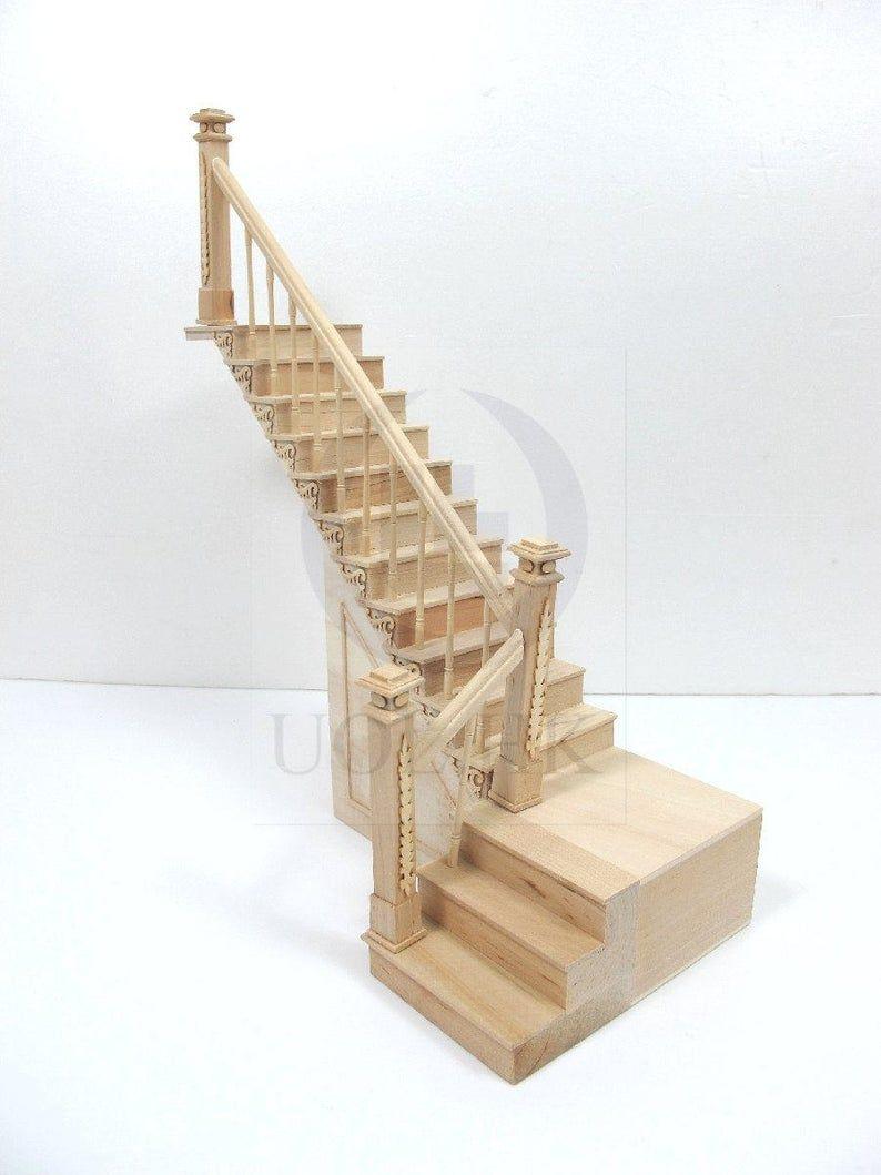12th Scale Maison de poupées escaliers