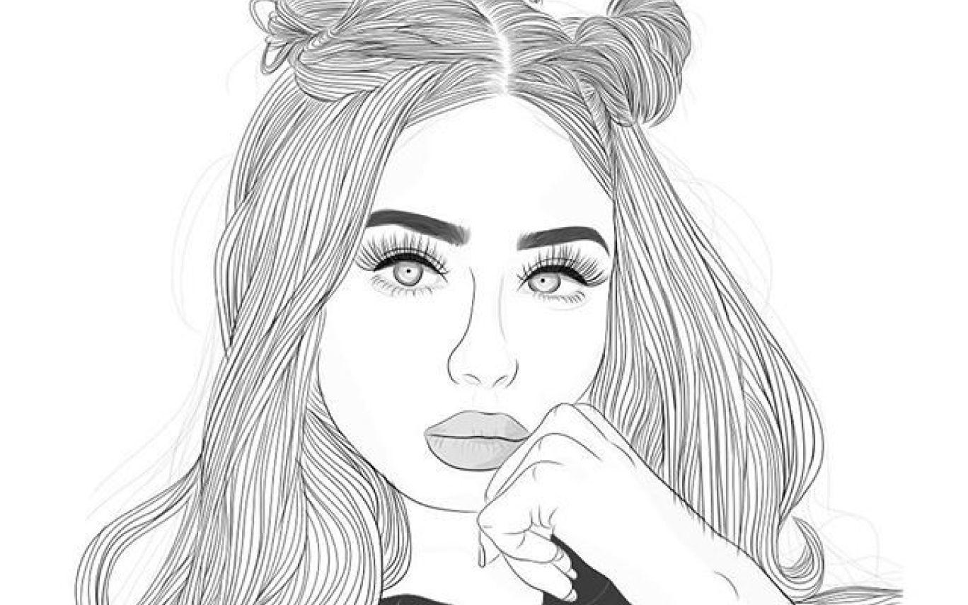Pencil Drawings Aesthetic T Tumblr Outline Drawings