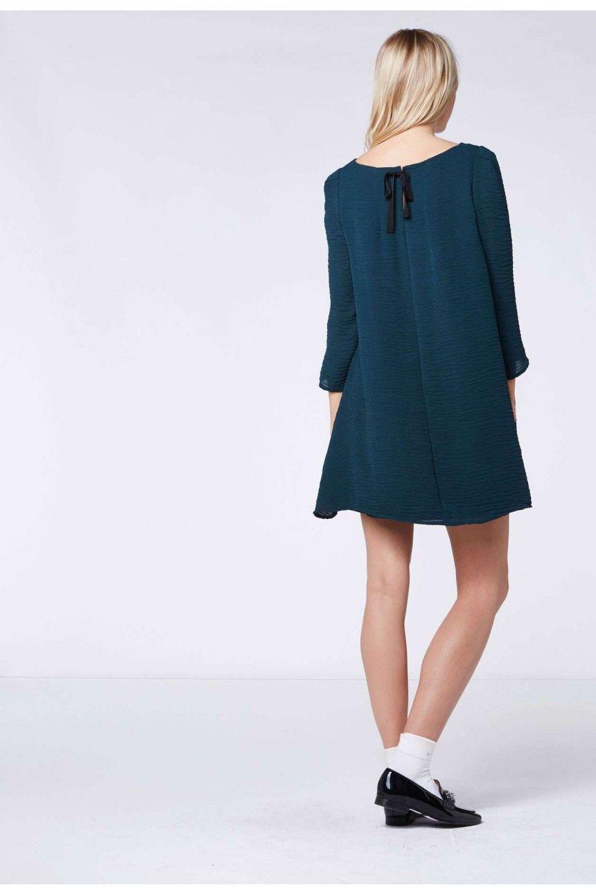 Robe RIFIFI vert - Robe Femme - Claudie Pierlot   Wish list ... 315583b5430