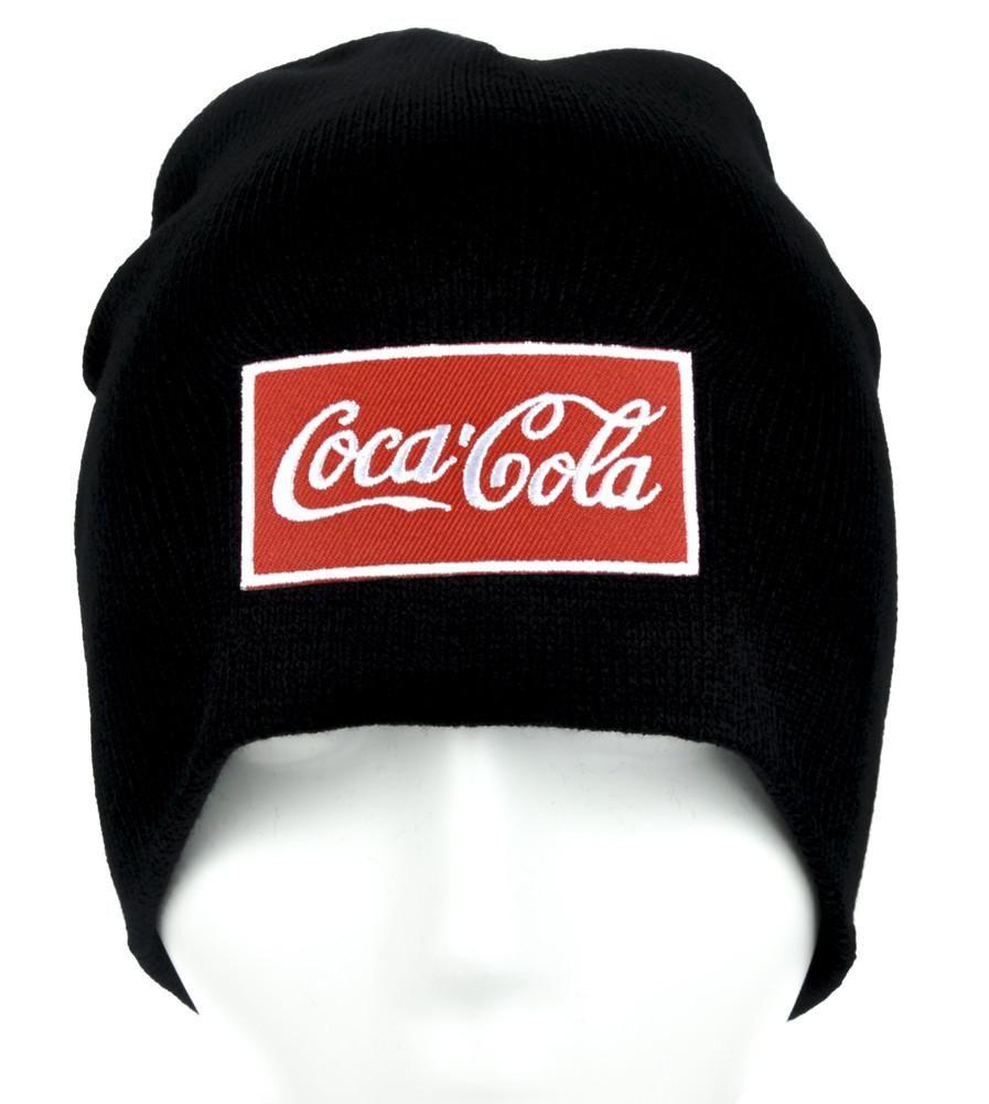 ea8b3fe30fc Coca-Cola Beanie Alternative Clothing Knit Cap Coke Soda Pop  gamer   deathrock  occultclothing  comiccon  blackmetal