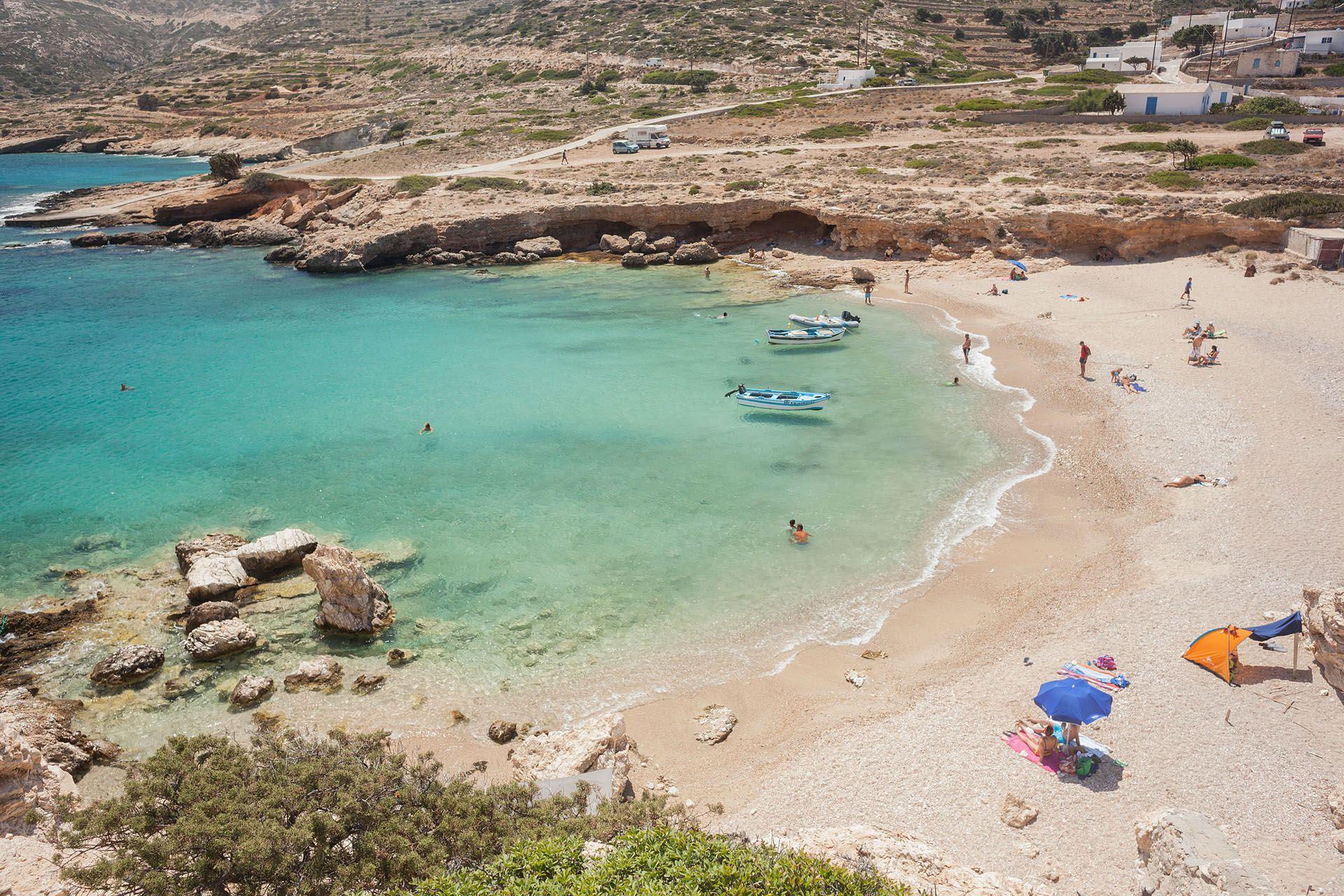 Kalotaritissa Beach - Sapounochoma Beach Donoussa island Cyclades