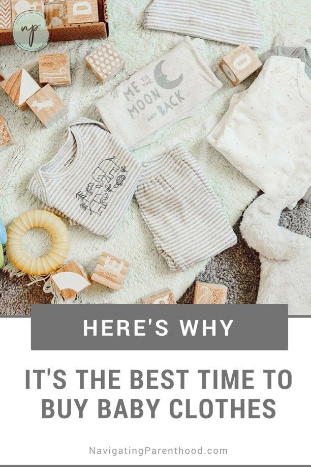 Why It's the Best Time to Buy Baby Clothes | Buy baby ...