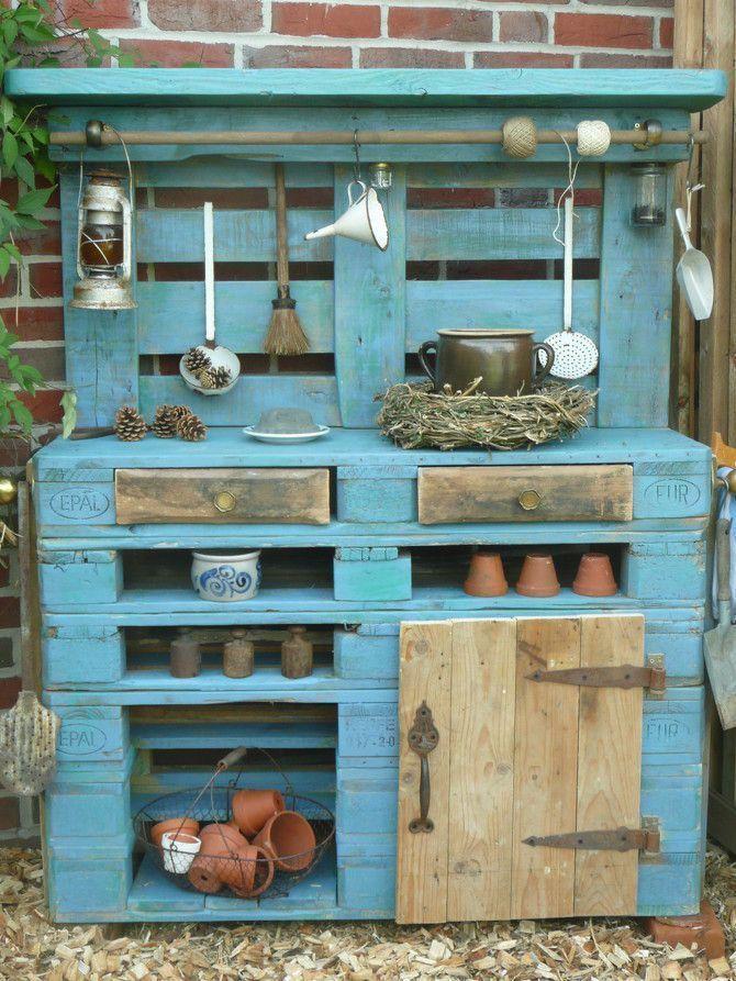 Beautiful furniture made of pallets mobel paletten  ...