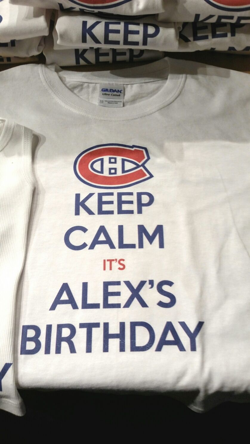 Custom Printed T Shirts For Birthday Party Great Loot Bag Idea Go